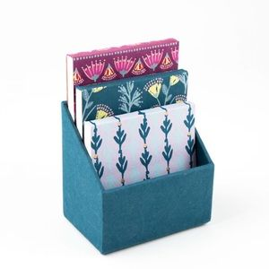 Paper Destiny Painterly Purple & Teal Notepads